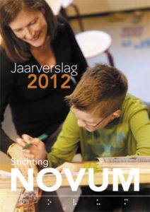Omslagfoto van het jaarverslag 2012